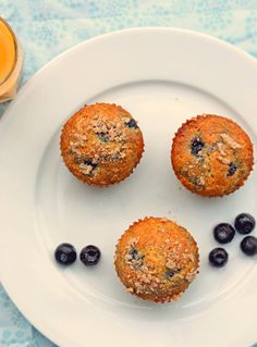 Mixed Berry Whole Wheat Muffins (+ Giveaway!) (House of Yumm)