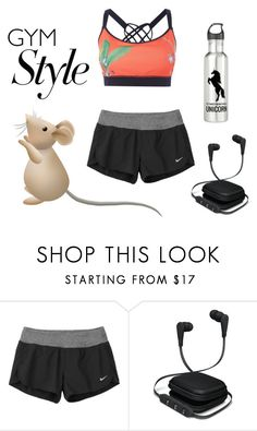 """""""Work it out"""" by amy307 ❤ liked on Polyvore featuring NIKE, iWorld and House of Fraser"""