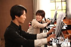Photo Gallery> shooting> tomorrow cantabile> Drama> KBS