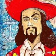Pirate Captain Morgan by artist DePaula