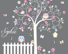 Infantiles pared calcomanías para niños pared por wallartdesign