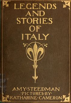 Cover.  ---     Katherine Cameron Illustrations: Legends and Stories of Italy for Children.