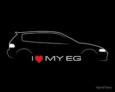 I love my EG (Honda Civic)