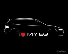 I love my EG (Honda Civic)