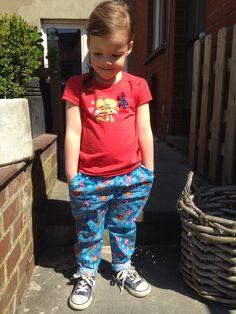 Mini Sunny Pants (broek patroon Ally jumpsuit LMV) http://magnifieka.blogspot.be