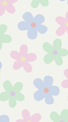 flower poster print wallpaper | Cute patterns wallpaper, Iphone wallpaper pattern, Phone wallpaper patterns