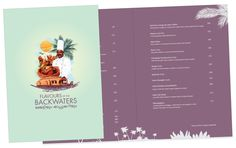 Ente Keralam - Backwater Menu Design Invitation Cards, Invitations, Menu Design, Insight, Cool Designs, Success, Messages, Menu Layout