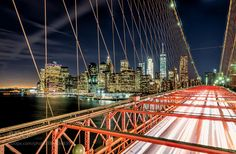 Manhattan Lights over Brooklyn by christianvercruysse check out more here https://cleaningexec.com
