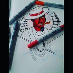 Desenho Exu