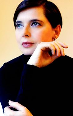 Isabella Rossellini a few years ago in her late fifties.