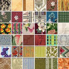 Secondhand Rose – Vintage Wallpaper + Linoleum in NYC's Tribeca | decor8