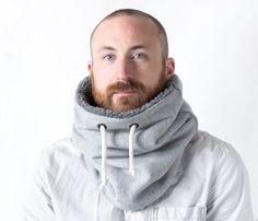 Unisex Kutte Hals wärmer Schal Men Snock® aus Baumwolle mit
