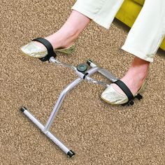 Pedal Exerciser is perfect for rebuilding muscle strength in your limbs.