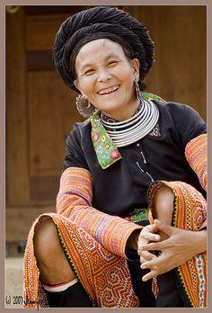 Hmong woman.