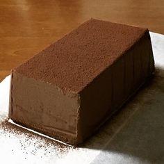 Rich chocolate cake Rango au Chocolat ♪- 最強!!濃厚チョコレートケーキ ランゴ・オ・ショコラ♪ strongest! White Chocolate Frosting, Chocolate Pudding Cake, Chocolate Recipes, Dessert Cake Recipes, Sweets Cake, Sweets Recipes, Delicious Desserts, Yummy Food, Cake Craft