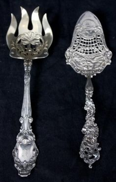 2 Sterling Silver Serving Pieces