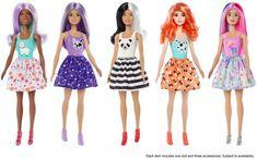 New Barbie Dolls, Doll Clothes Barbie, Mattel Barbie, Barbie And Ken, Barbie Fashionista, Little Girl Toys, Toys For Girls, Gymnastics Set, Unicorn Fashion