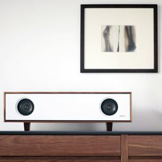 Want to an incredible audio listening experience without the bulk? Small speakers meet big, high quality sound with Symbol Audio's Tabletop HiFi. Small Speakers, Hifi Speakers, Tabletop, Speaker Design, Vintage Design, Retro Vintage, Decoration, Thing 1, Art Deco