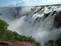 Ruacana Falls,