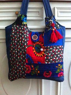 Patchwork çanta..