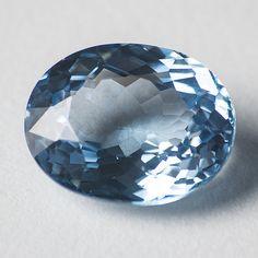 19.65ct Aquamarine Oval-Cut loose Gemstone: by madcityfinearts