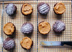 WHOLEMEAL CHOCOLATE  PEANUT BUTTER BISCUITS - sounds delicious and edible :)
