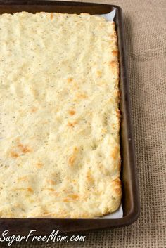 grain free pizza- made with mozzarella and cream cheese. I'm curious.