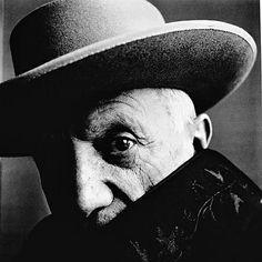 Irving Penn, Pablo Picasso at La Californie, 1957