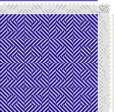 Hand Weaving Draft: Page 189, Figure 1 (a), Posselts Textile Journal, February 1908, No. 2, 8S, 10T - Handweaving.net Hand Weaving and Draft...