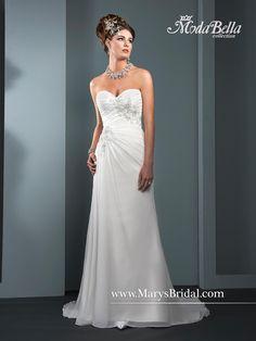 dec535fab09 Wedding gown by Mary s Bridal – Moda Bella