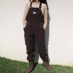 Levi's brown corduroy overalls unisex vintage / dungarees jumpsuit levi strauss original retro button up work clothing straight leg Dungarees, Overalls, Levi Strauss, Levis, Corduroy, Button Up, Jumpsuit, Characters, Etsy Shop
