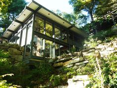 Russel Wright's historic woodland sanctuary reflects the splendor of its…