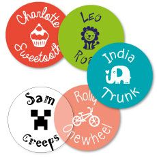 Labels that are bound to stick around! The online shop where you can buy fun personalised labels and stickers to identify all your belongings.