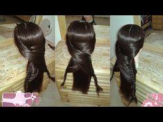 peinados faciles rapidos y bonitos con trenzas de moda para la escuela para nia cabello