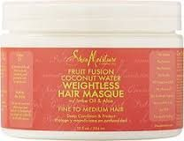 Calling All Naturals - Curls, Coils & Kinks: Shea Moisture Fruit Fusion Coconut Water Weightles...