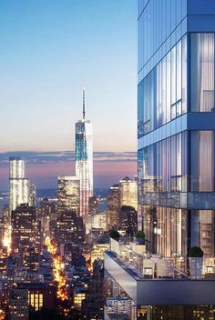 Rupert Murdoch's New Penthouse, One Madison building. New York Penthouse, Manhattan Penthouse, Luxury Penthouse, Appartement New York, Appartement Design, Apartment View, Apartment Goals, Penthouse Apartment, Cool Apartments