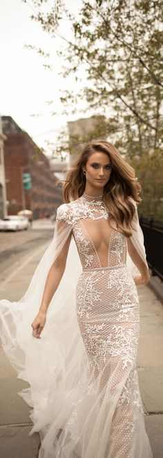BERTA 2018 bridal collection. Style 18-07.