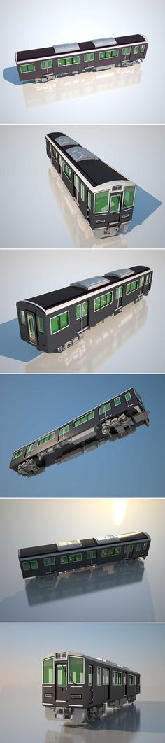This project makes a model trains. It has been requested by a Japanese partner. I hope everyone likes it! :)
