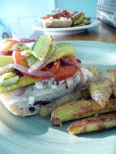 Life Tastes Good: Roasted Vege Sandwich