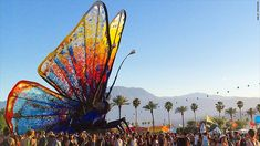 Millennials are flocking to the world-famous music festival in the desert. But the hottest ticket in town doesn't come cheap.Coachella valley,Cal