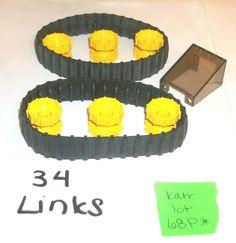 > > > $12.88 < < <  #EBAY #LEGOCITY #LEGOTOWN #STOCKINGSTUFFERS #LEGOTECHNIC #LEGOMINDSTORMS #CONSTRUCTION #CRANE LEGO Tire Tread 34 Links 680c01 32007 Hub 4872 4SET 7248 8419 7243 8414 9747 lot #LEGO