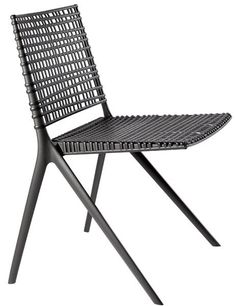 Check out 33 of the best outdoor furniture finds for summer, like the Branch side chair by Janus et Cie.