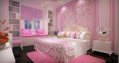 Gợi ý thiết kế nội thất phòng ngủ cho bé gái