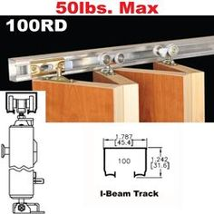 Show details for 100RD Multi-Fold Door Hardware