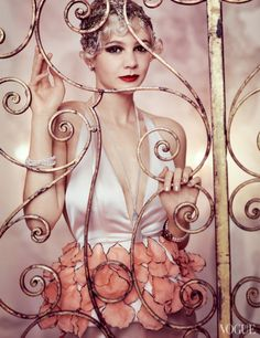 Carey Mulligan in Dior Haute Couture – Vogue US May 2013 by Mario Testino