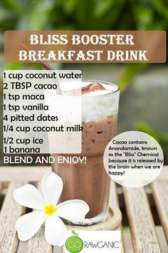 Raw Bliss Booster Breakfast Drink