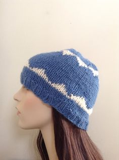 A personal favorite from my Etsy shop https://www.etsy.com/listing/173591741/hand-knit-hat-beanie-hat-women-teen-hat