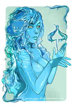 queen of spades Queen Of Spades, Taylor Kitsch, Fantasy Illustration, Princess Zelda, Hero, Fan Art, Fictional Characters, Deviantart, Blue