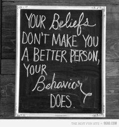 Be... better :-)