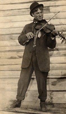 Papa played fiddle